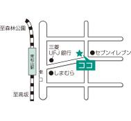 東松山駅東口校地図